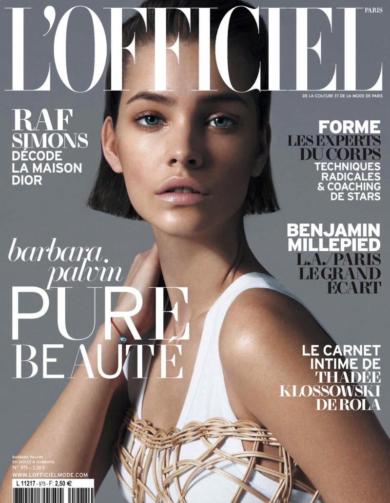 Barbara Palvin By Cuneyt Akeroglu For L'officiel Paris May 2013