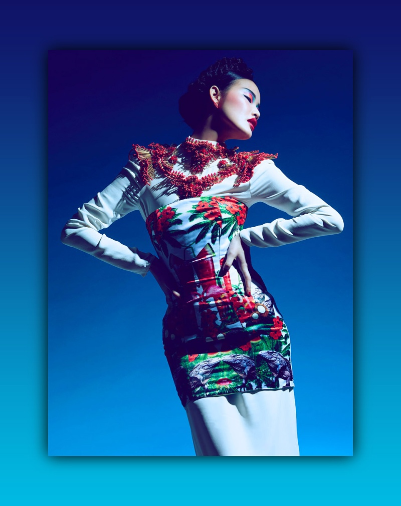 Chen Lin & Meng Ya By Tim Wong For Marie Claire Hong Kong
