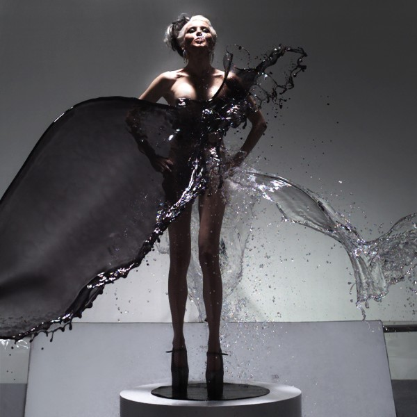 Daphne Guinness in Splash by SHOWstudio