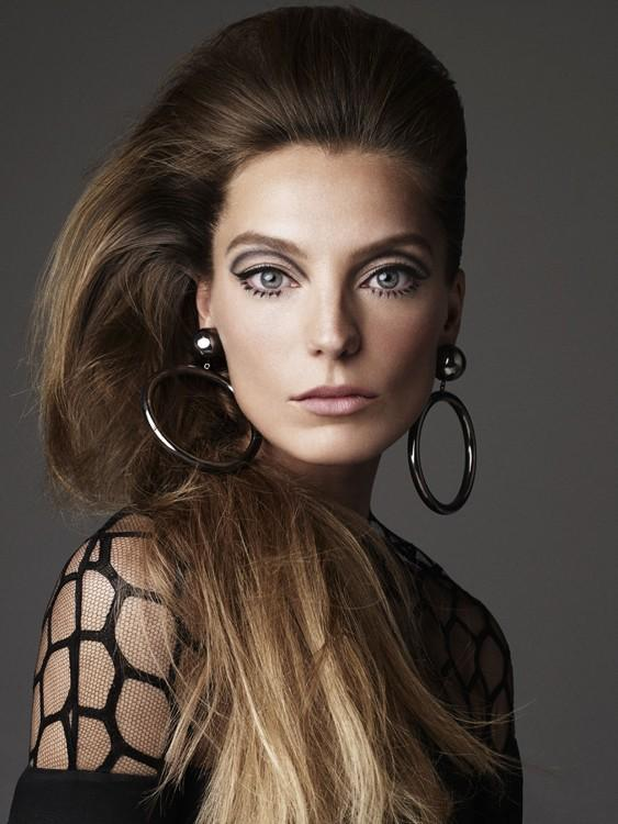 Daria Werbowy by Victor Demarchelier fos Stylist Magazine April 2013