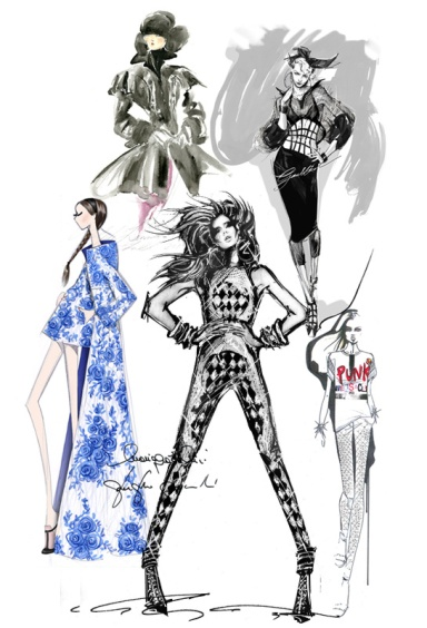Designer Sketches