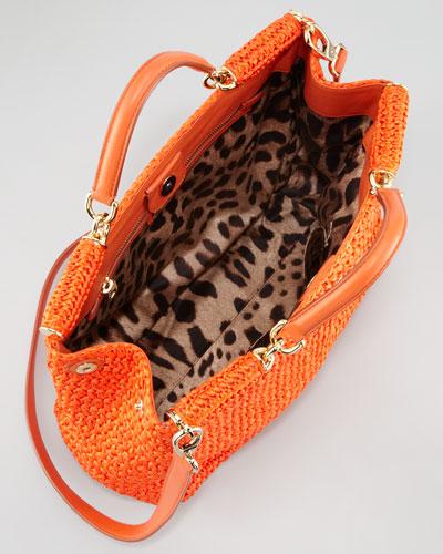 4c78d4302e1 Dolce & Gabbana New Miss Sicily Crochet Tote Bag-1 | the CITIZENS of ...