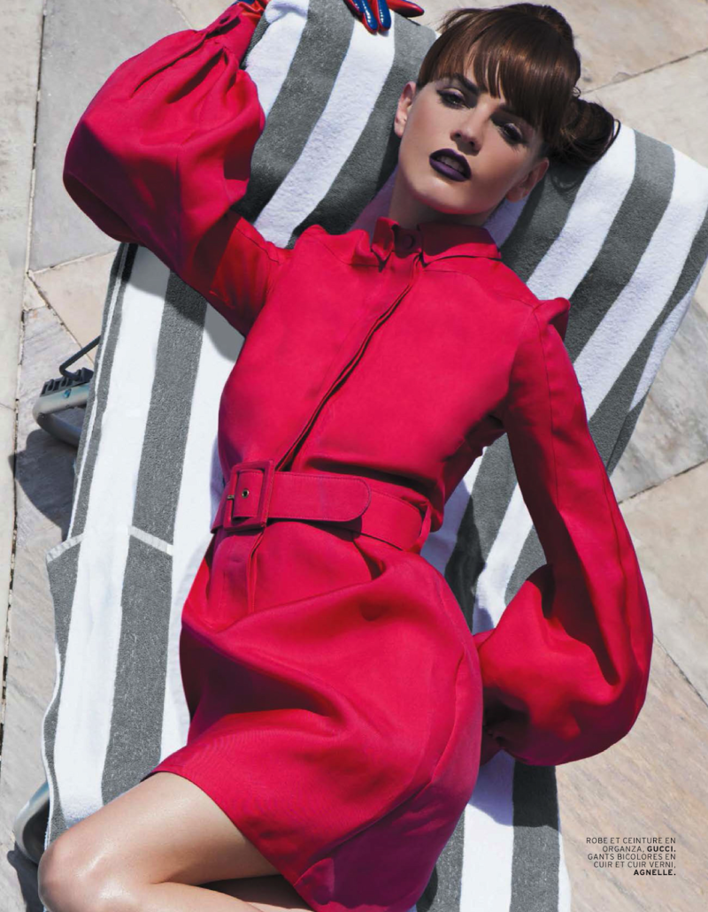 Jeisa Chiminazzo By Michael Roberts For L'officiel Paris May 2013