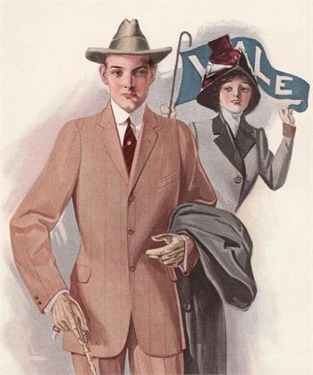 Fashion illustration 1910 ©Corbis