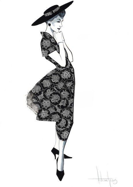 Fashion Illustrations For The Museum Of Costume By Fernando Vincente