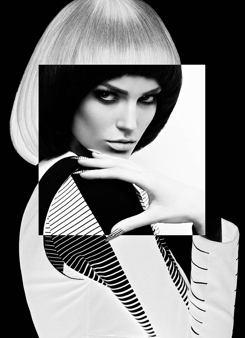 High Fashion Letters: Fashion Magazine – High Contrast