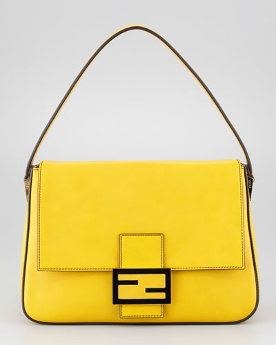 Fendi  Big Mama Zucca-Flap Large Shoulder Bag