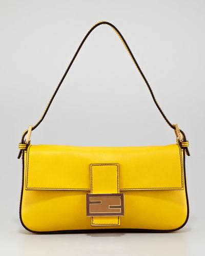 Fendi Leather Baguette Bag