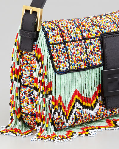 Fendi Fringed Baguette,