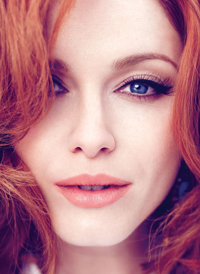 Flare Magazine : Christina Hendricks