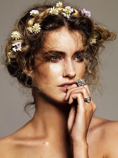 model : Manon ,photo by Alique