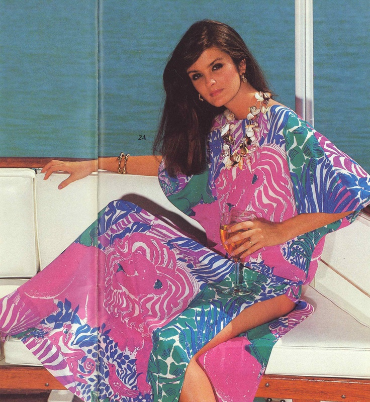 From Lilly Pulitzer's Late Summer:Fall 1982 catalog