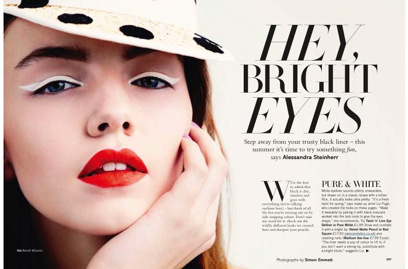Glamour UK : Hey,Bright Eyes