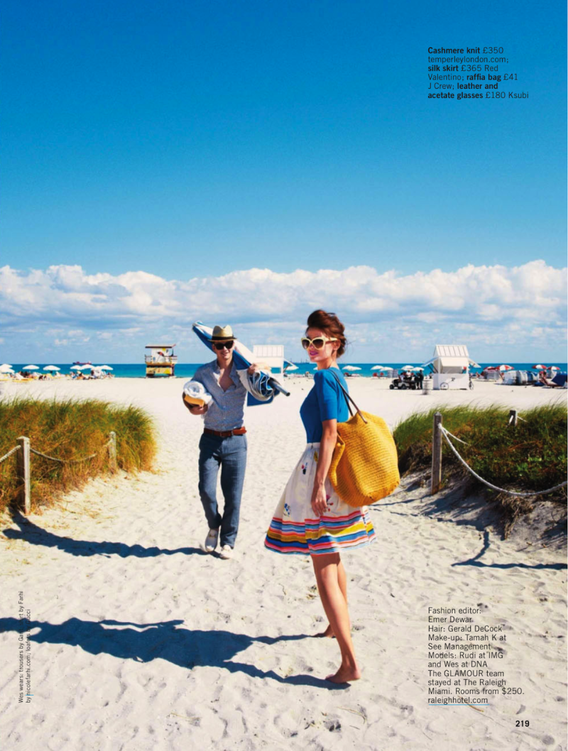 Glamour UK : Sun,Sea,Glamour