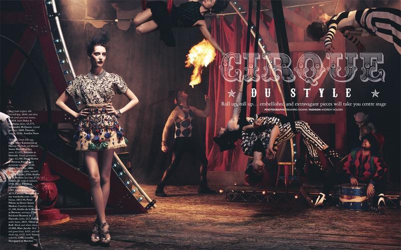 Grazia : Cirque Du Style