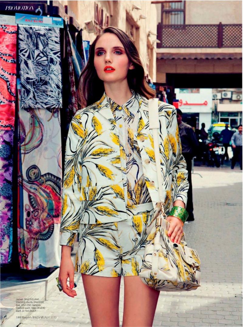 Harper's Bazaar Arabia : She's Eclectic