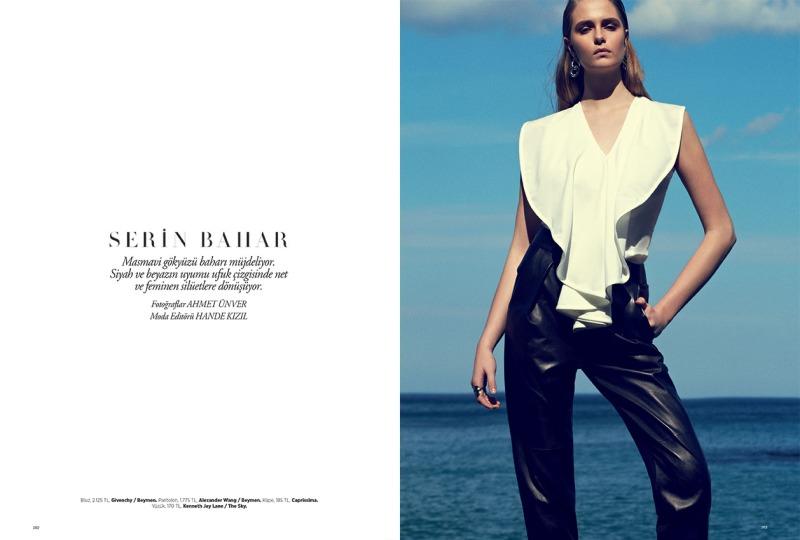 Harper's Bazaar Turkey :Serin Bahar (Cool Spring)