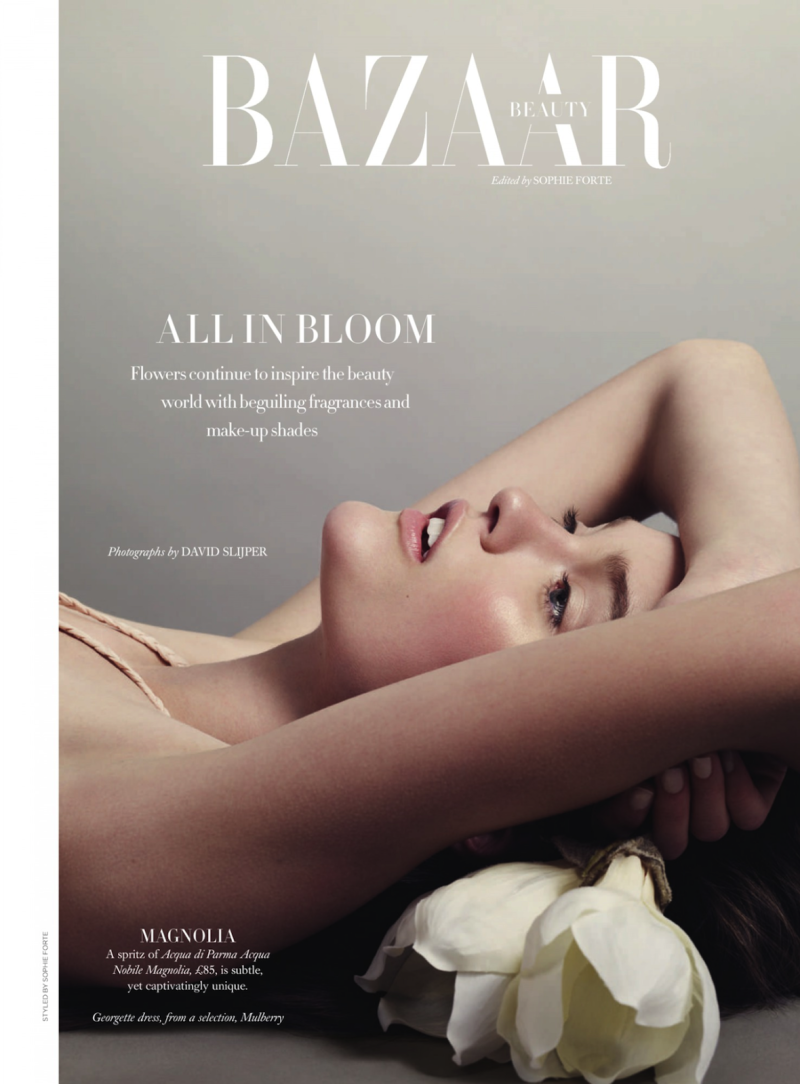 Harper's Bazaar UK : All In Bloom
