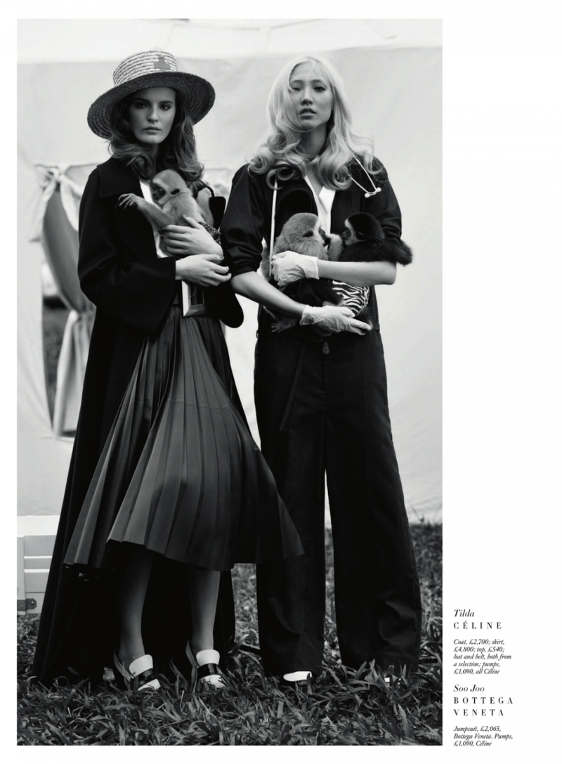 Harper's Bazaar UK - Carine On The Pre-Fall Collection