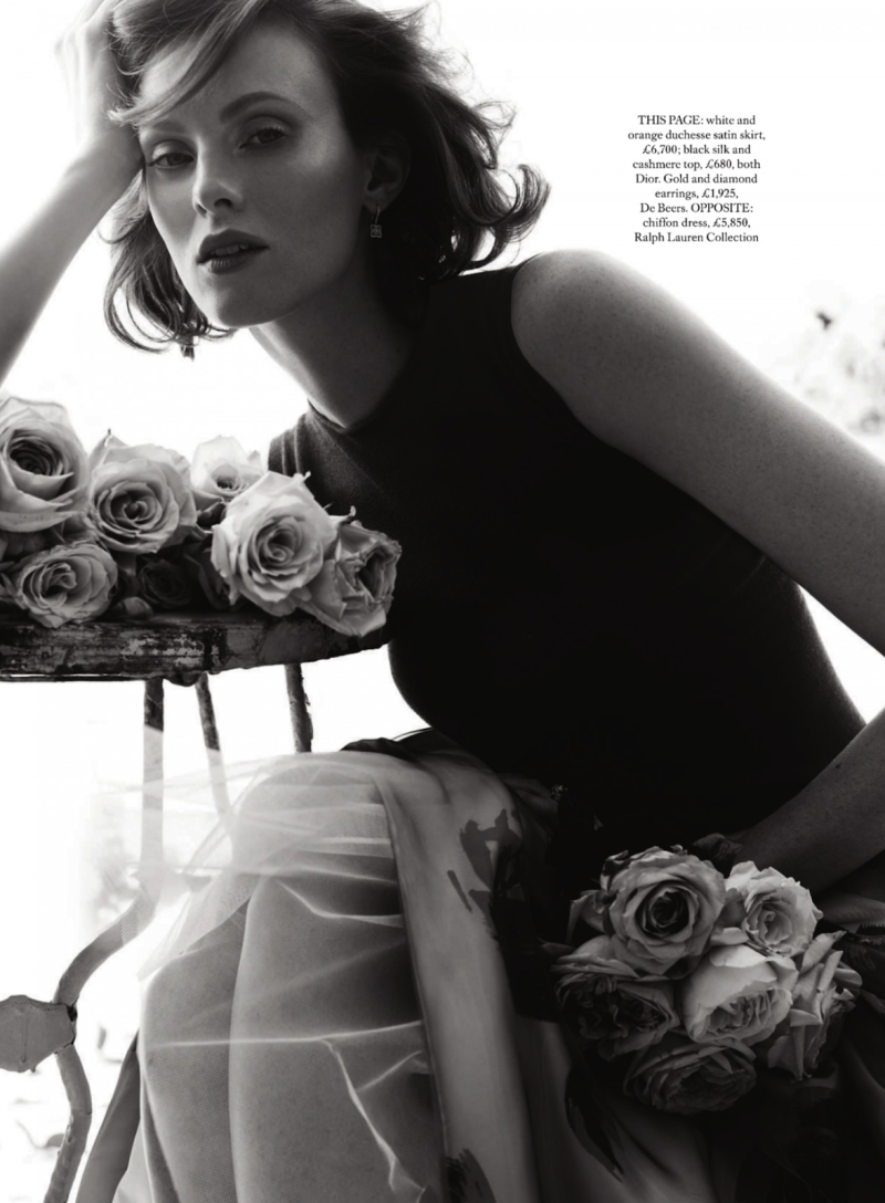 Harper's Bazaar UK : La Vie En Rose