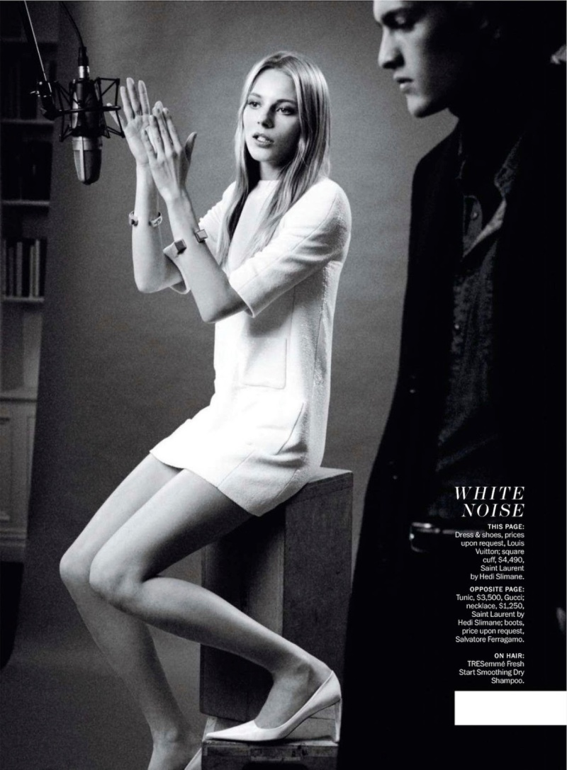 Ieva Laguna & Marcel Castenmiller By Jenny Gage & Tom Betterton For  Marie Claire US May 2013
