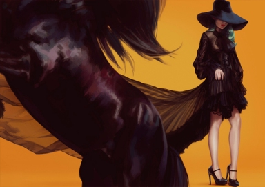 Illustrations By Ignasi Monreal For  JOYCE Boutiques Hong Kong