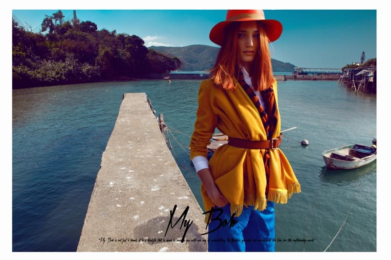 Inessa Novichkova By Baldovino Barani For Hatwoman Spring/Summer 2013