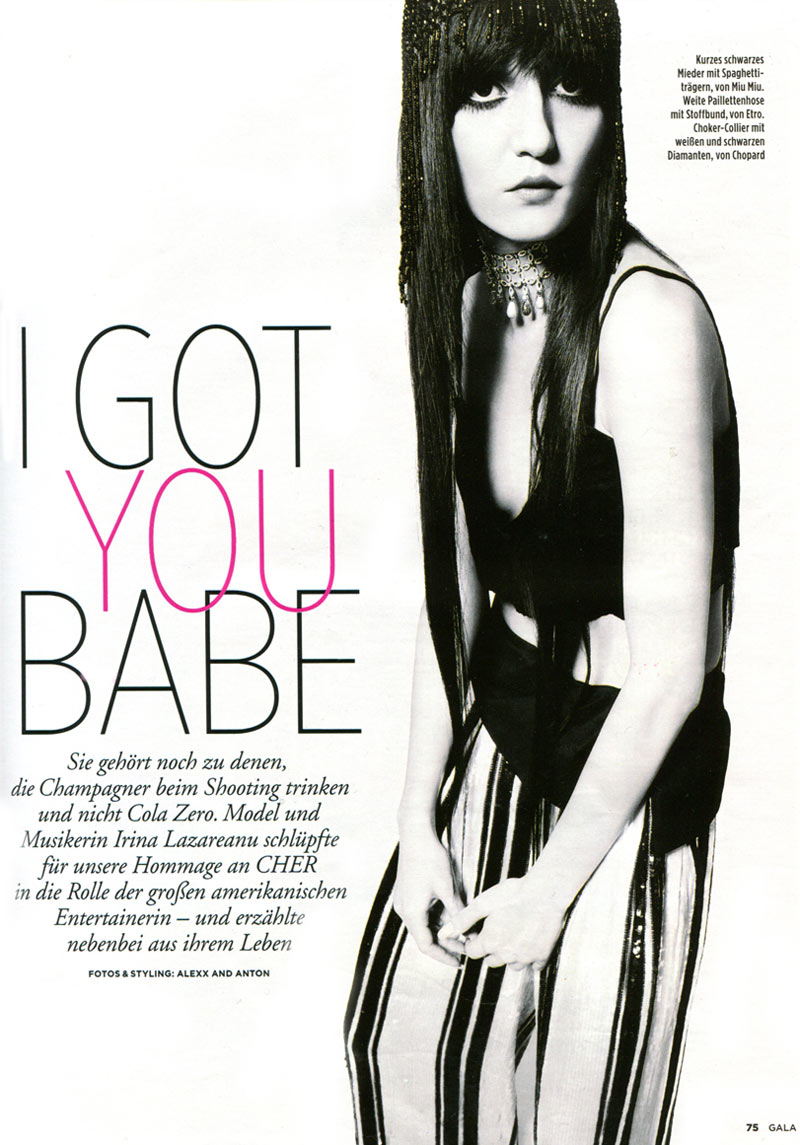 Gala Magazine : I Got You Babe