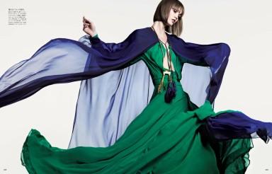 Karlie Kloss by Hedi Slimane for Vogue Japan June 2013