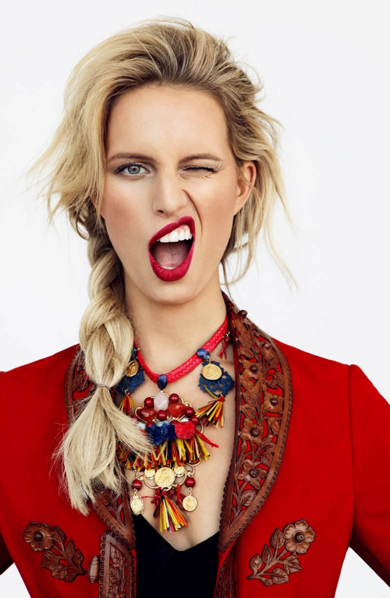 Karolina Kurkova for Elle Czech March 2013