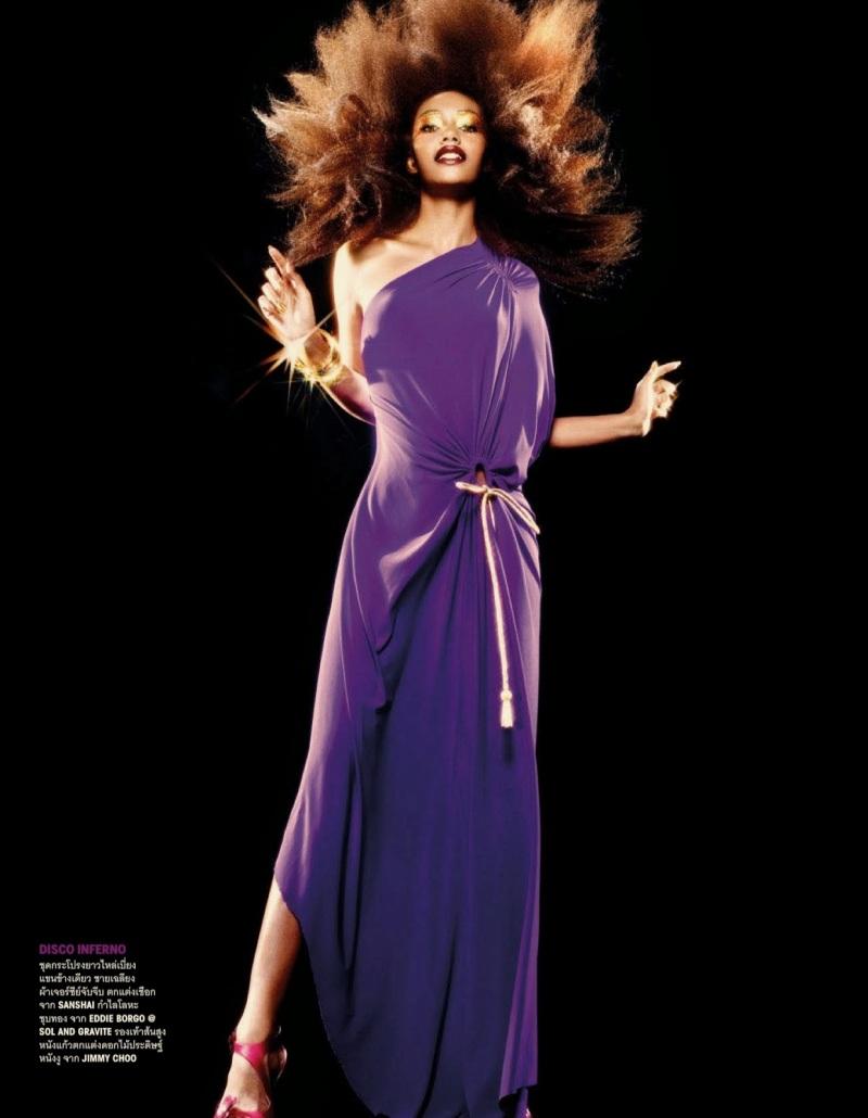 Kusuma Chawdon by Tada Varich for Vogue Thailand May 2013