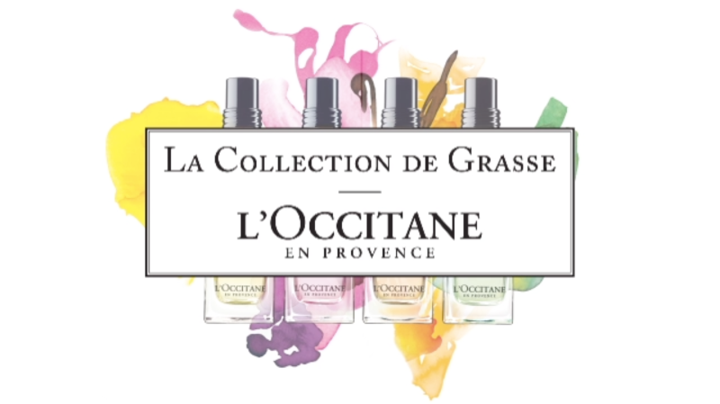 La collection de grasse By Lionel Koretzky For L'Occitane