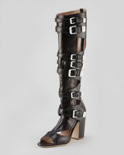 Laurence Dacade Dolene Multi-Buckle Knee Boot