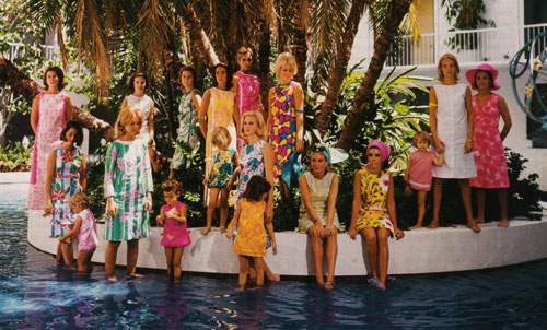 lilly pulitzer's little cotton shifts, april 1964