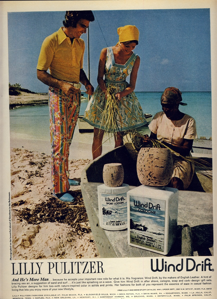 Lilly Pulitzer:Wind Drift Combo Ad- 1970s