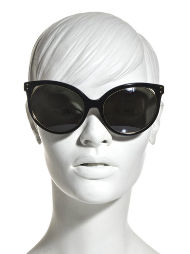 LINDA FARROW Cat-eye sunglasses