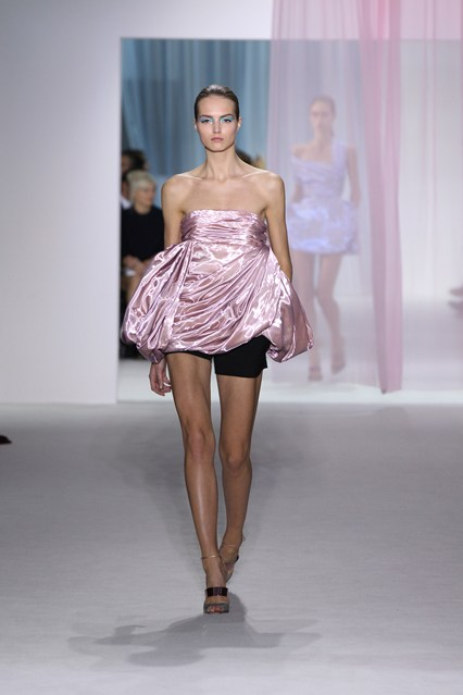 Look 23 from Dior's spring/summer 2013 collection.