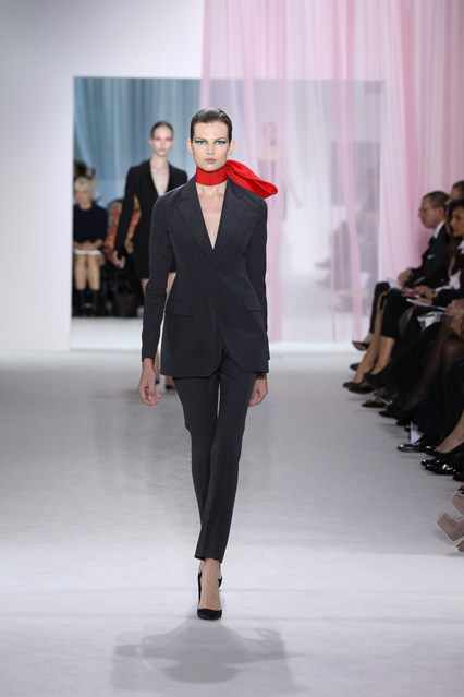 Look 3 from Dior's spring:summer 2013 collection.