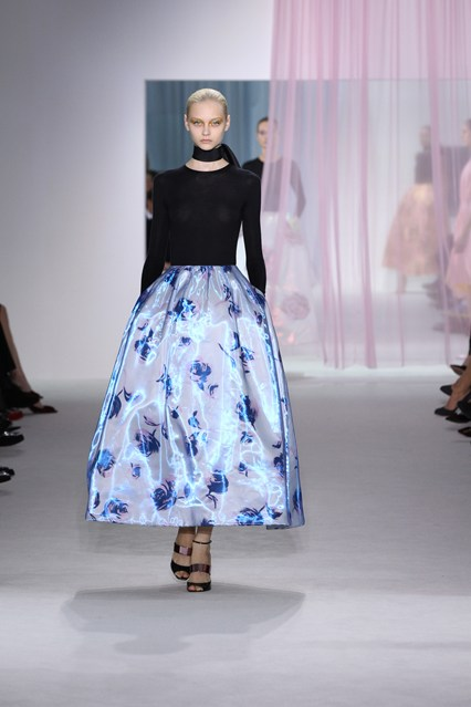 Look 51 from Dior's spring/summer 2013 collection.