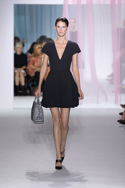 Look 7 from Dior's spring/summer 2013 collection.