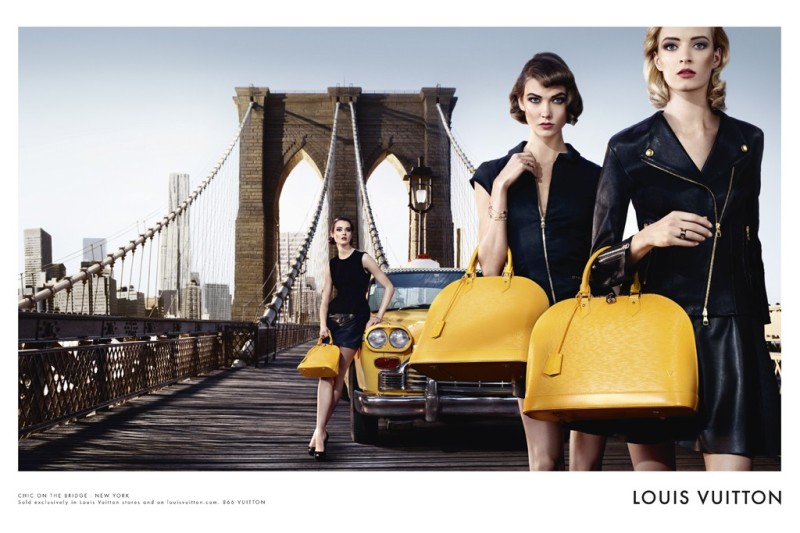 Louis Vuitton's newest campaign, shot by Steven Klein, puts the spotlight on its Alma bag.
