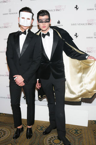 Luigi Tadini and Peter Brant Jr.