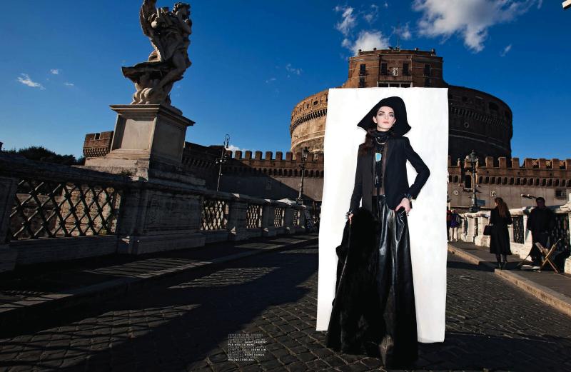 Magda Laguinge By Oliviero Toscani For Jalouse May 2013