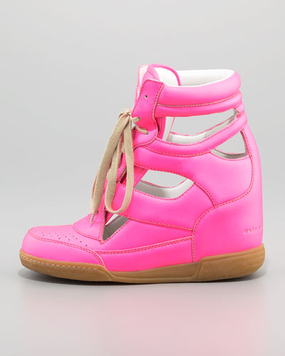 MARC by Marc Jacobs Cutout Wedge Sneaker