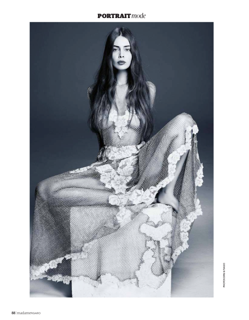 Marie-Ange Casta By Driu & Tiago For Madame Figaro France
