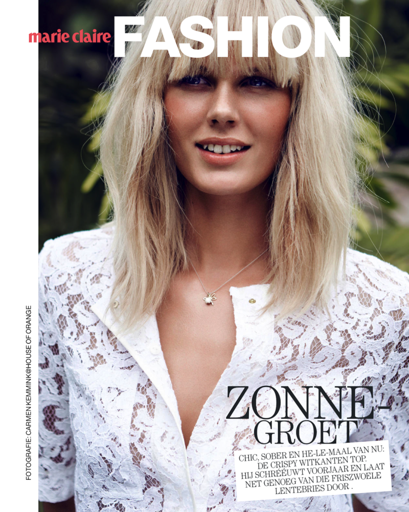 Marie Claire Netherlands : White In The Wild