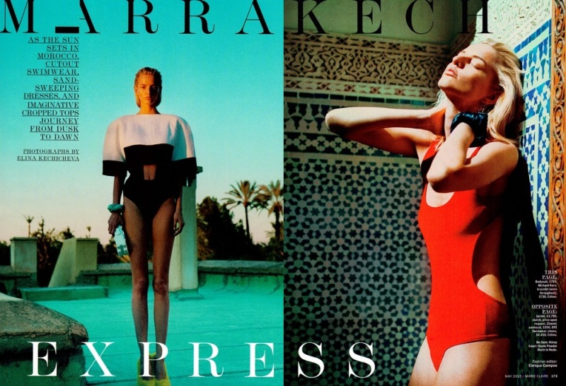 Marie Claire US : Marrakech Express