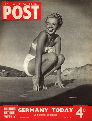 Marilyn Monroe, 1949 © Getty Images