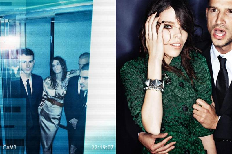 Meghan Collison by Alexi Lubomirski For W Magazine Korea