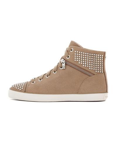 MICHAEL Michael Kors Studded Hi-Top Sneaker